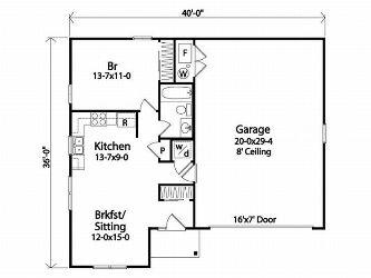 1 Level Garageapartment Maston Homes