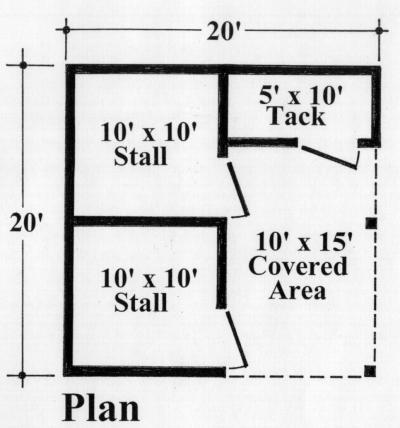2 stall stable maston homes for 2 stall barn plans