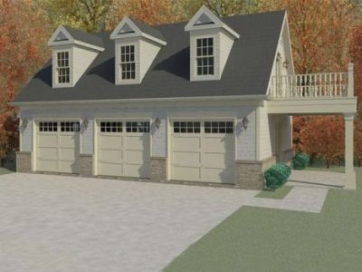 3 Car Garage/Guest Quarters | Maston Homes
